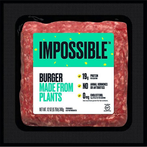 Impossible Burger Made From Plants 12oz