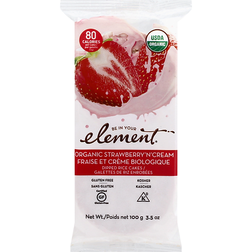 Be in Your Element Organic Strawberry N Cream 3.5 oz