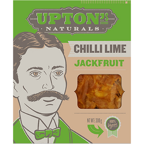 Upton Natural Chili Lime Jackfruit 100% Vegan