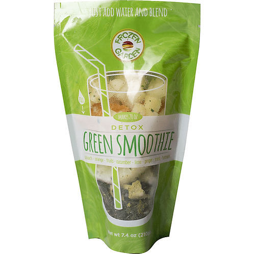 Frozen Garden Detox Green Smoothie