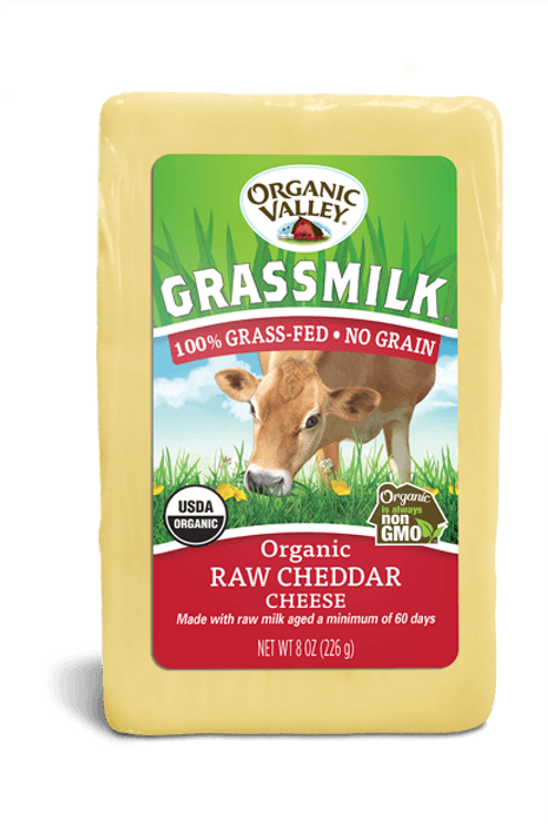 Organic Valley Grass Milk Raw Cheddar Cheese