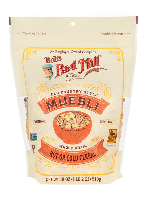 Bob's Red Mill Old Country Museli Hot or Cold Cereal 18oz