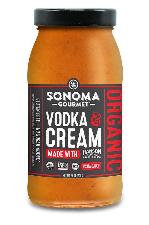 Sonoma Gourmet, Vodka & Cream 25oz