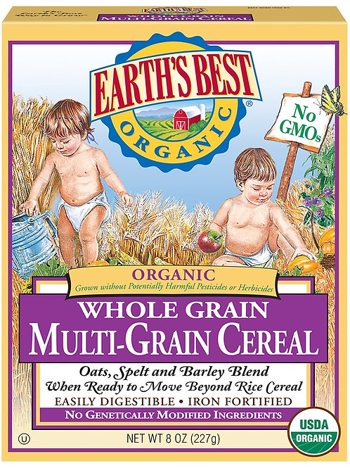 Earth Best Multi - Grain Cereal 8oz