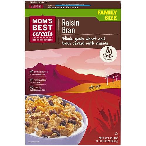 Mom's Best Cereal Raisins Bran 22oz