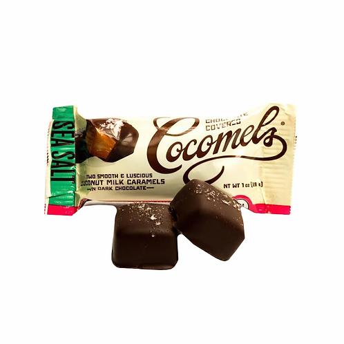 Cocomels Seasalt Dark Chocolate 1oz