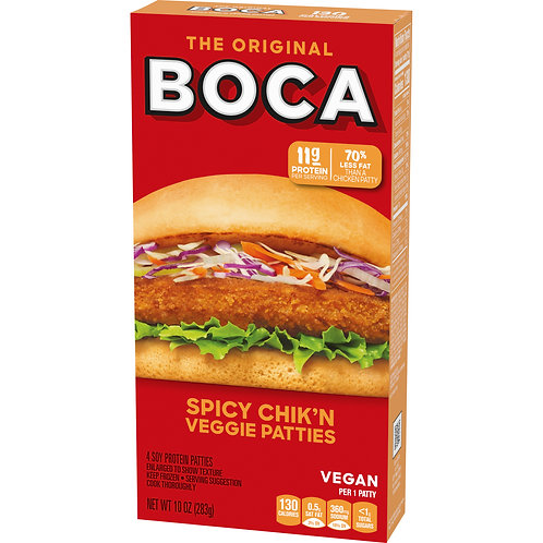 Boca Spicy Chicken Veggie Burger