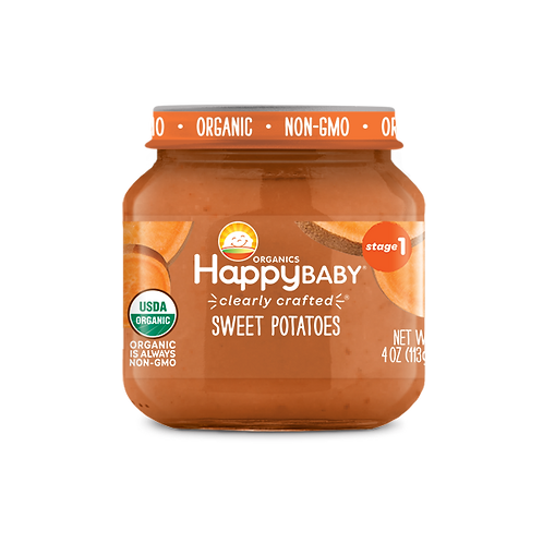 Happy Baby Sweet Potatoes