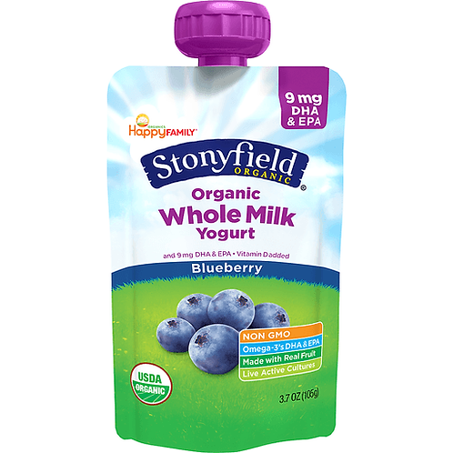 Stonyfield Organic Whole Milk Yogurt