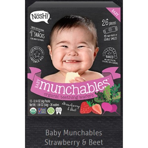 Nosh! Munchables Strawberry and Beets 1.90 oz