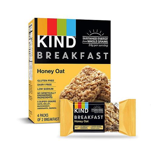 Kind Breakfast Bars Honey Oats 4 Pack