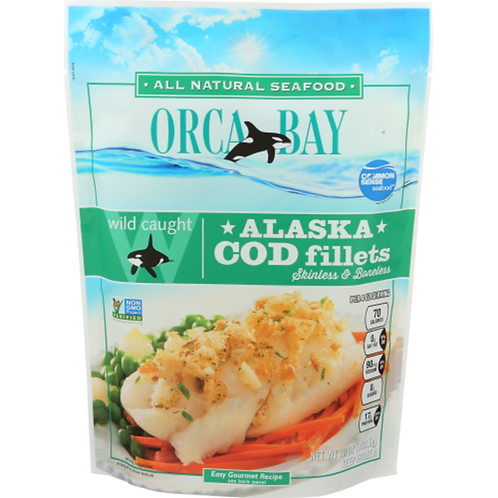 Orca Bay Alaska Cod Fillets 10z