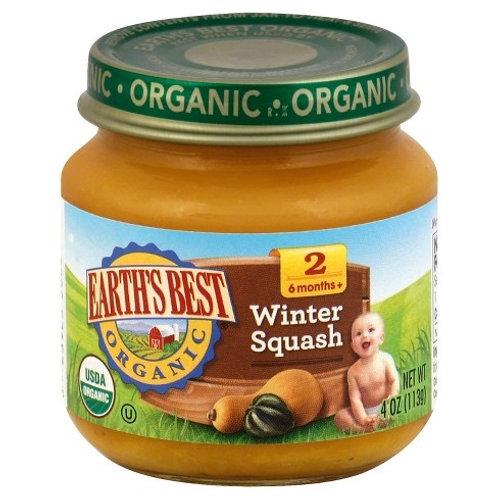 Earth Best Winter Squash 4oz