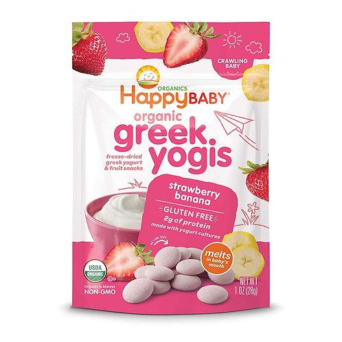 Happy Baby Greek Yogis Strawberry Banana