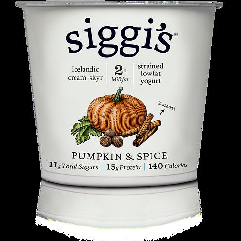 Siggis Pumpkin Spice Yogurt