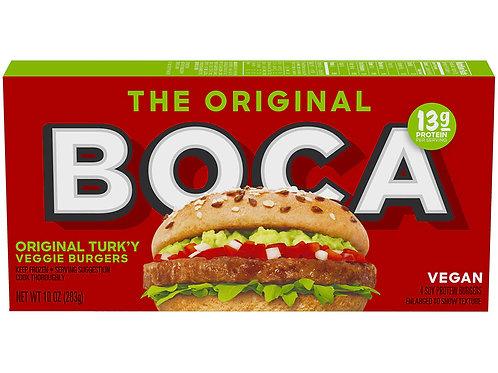 The Original Boca Turkey Veggie Burger 10 oz