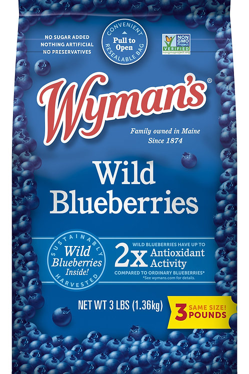 Wymans Wild Blueberries 15oz