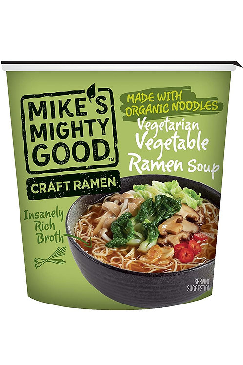 Mike's Might Good Vegetarian Vegetable Ramen Soup