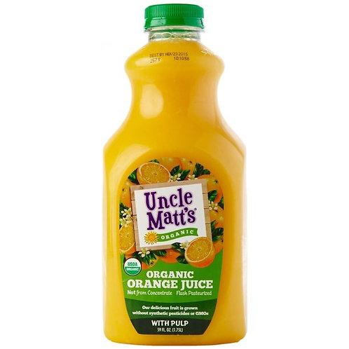 Uncle Matts Orange Juice with Pulp 59oz