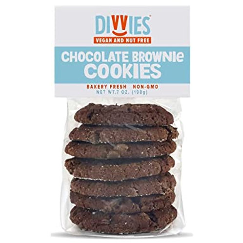 Divvies Chocolate Brownie Cookies 7oz