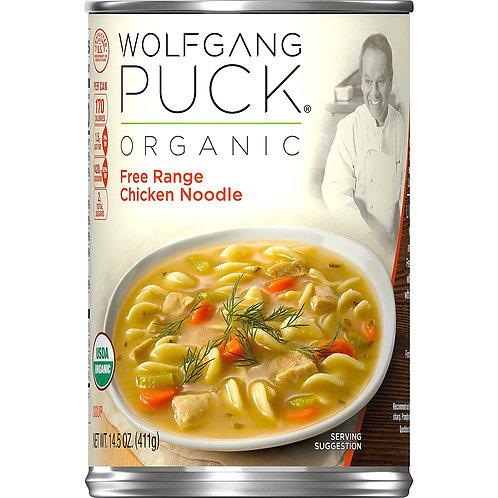 Wolfgang Puck Free Range Chicken Noodle Soup 14oz