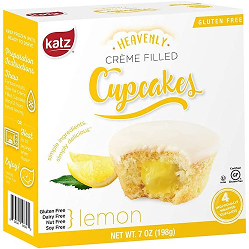 Katz Heavenly Cupcakes Lemon 7oz