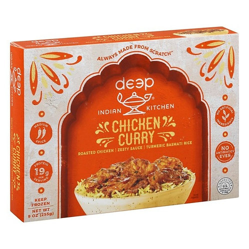 Deep Indian Kitchen Chicken Curry 10 oz
