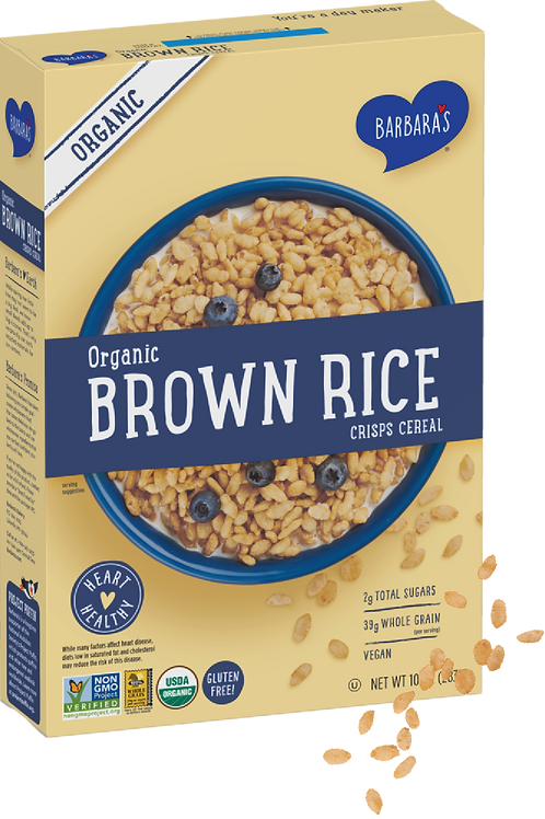 Barbara Organic Brown Rice Cereal 10 oz