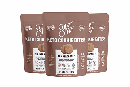 Superfat Keto Cookies Bites 2.25 oz