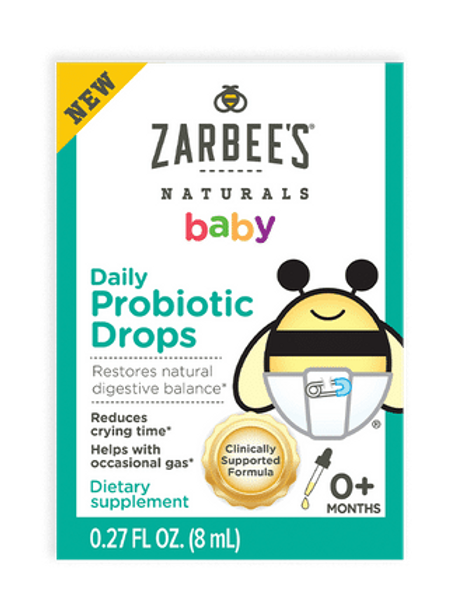 Zarbees Probiotic Drops 0.27 oz