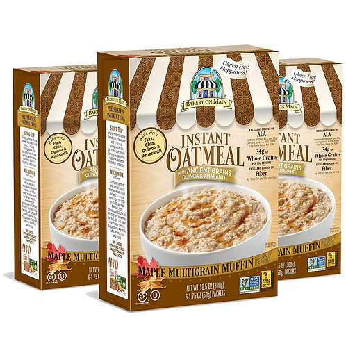 Instant Oatmeal Multigrain Muffin 10.5 oz