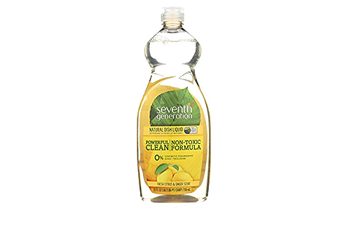 Seventh Generation Dish Liq Frsh Citrus Gngr - 25 oz