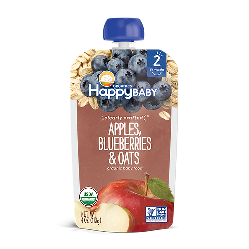 Apples Blueberries and Oats