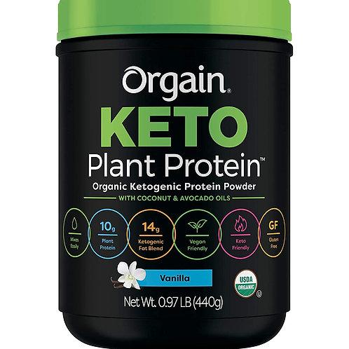 Orgain Keto Plant Protein Vanilla