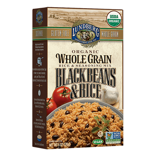 Lundberg Black Beans and Rice