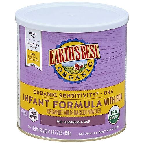 Earth Best Infant Formula 23.3 oz