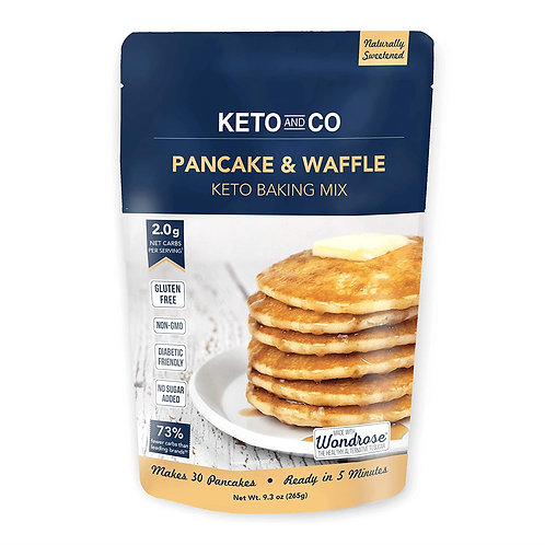 Keto and Co Pancake and Waffles Mix 9.3 oz