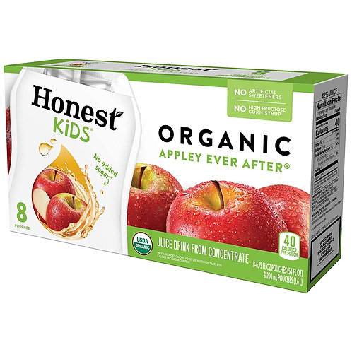 Honest Tea Apple Juice Boxes