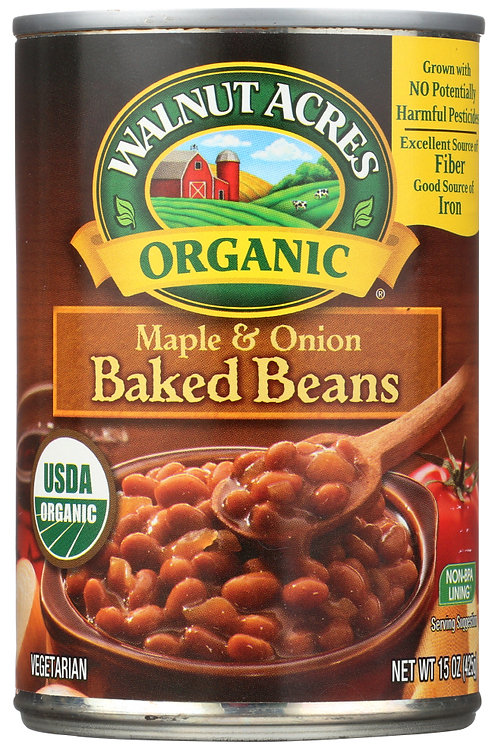 Walnut Acres Maple Baked Beans 15oz