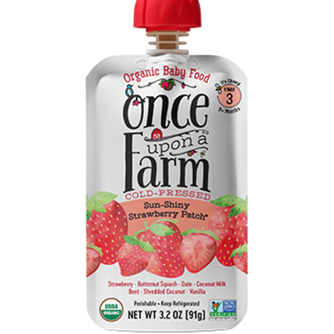 Once upon a farm/ Sun- Shiny Strawberry Patch