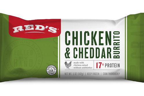 Reds Chicken and Cheddar Burrito 4.5oz