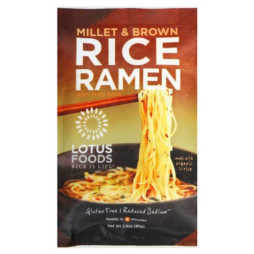 Lotus Food Millet and Brown Rice Ramen Soup 2.8oz