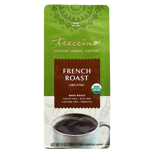 Teeccino French Roast Dark Coffee 11oz