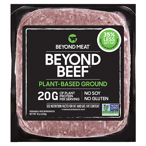 Beyond Meat Beyond Beef Plant Based Ground 16oz