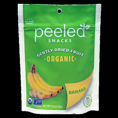 Dried Fruit Peeled Organic Banana 2.3 oz
