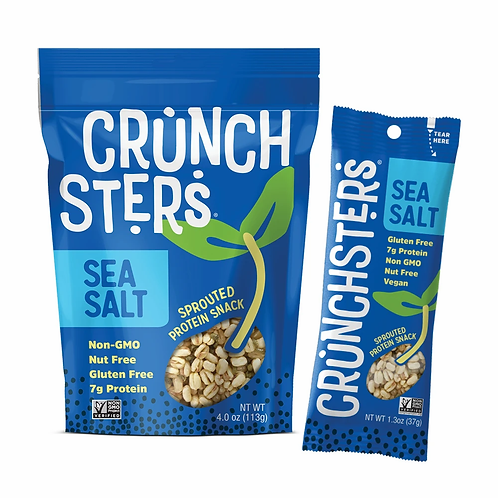 Crunchsters Sea Salt 4.0 oz