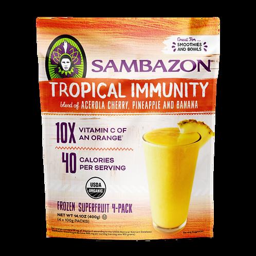 Sambazon Tropical Immunity 14 oz