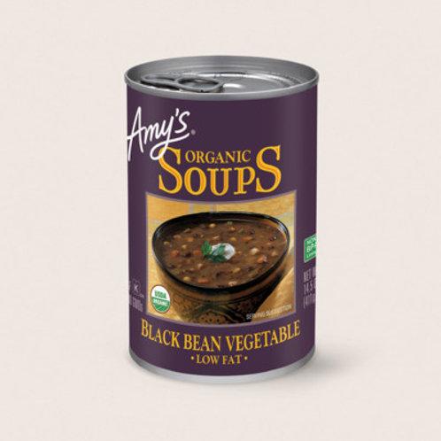 Amy's Organic Soup Black Bean Vegetable Soup