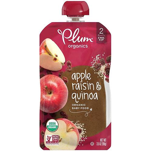Plum Organic/ apple, raisin and quinoa
