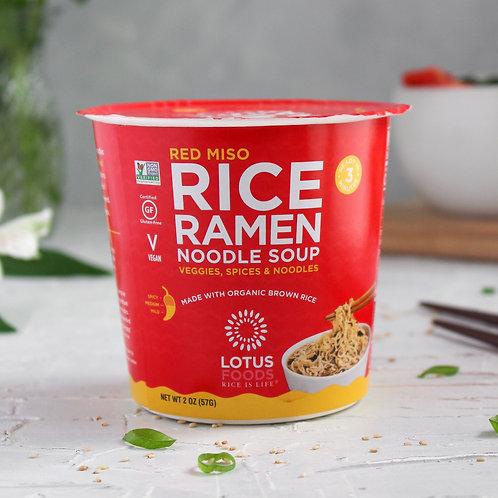 Lotus Food Red Miso Ramen Noodle